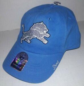 sells excellent quality uk cheap sale Detroit Lions Women's Sparkle Sequins Logo Hat Cap Forty Seven ...