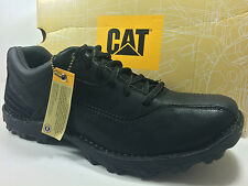 CATERPILLAR Movement Oxford Size 9.5 M Black Leather Shoes P73950 $90