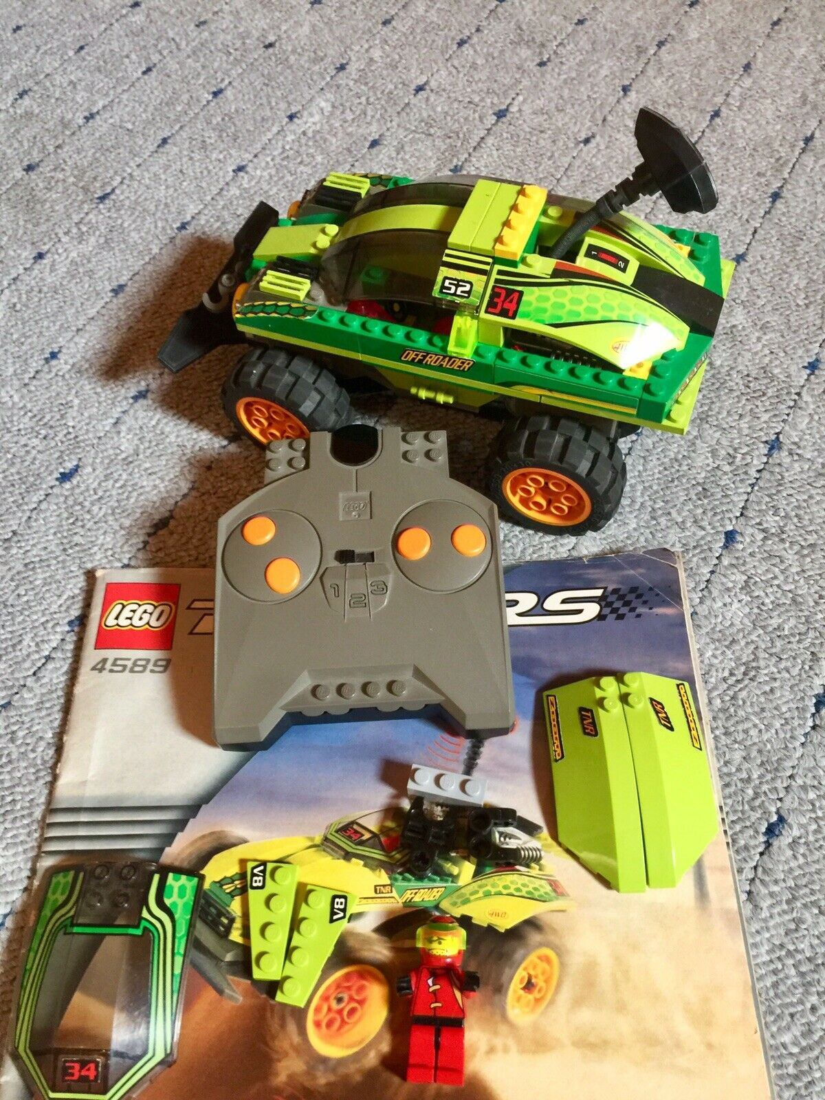 "Lego Racers 4589 ""RC Nitro Flash"" Fernlenkauto RARIRÄT"