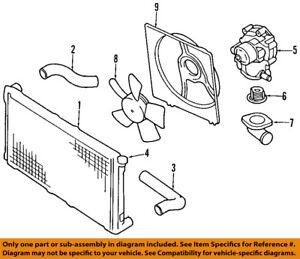 details about subaru oem 04 14 impreza 2 5l h4 engine water pump 21111aa240 99 Subaru 2.2 Engine Diagram