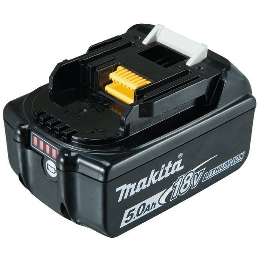 Makita Original Wechsel-Akku BL 1850 B 18V-5,0Ah Ersatzakku LED BL1850B