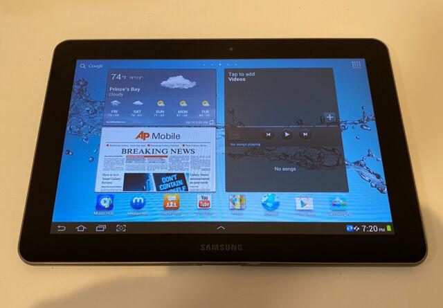 Samsung Galaxy Tab Gt P7510 16gb Wi Fi 10 1in Metallic Gray For Sale Online Ebay