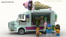 CUSTOM INSTRUCTIONS ONLY Modular Lego Ice Cream Van PDF FILE ONLY!