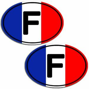 2-Vinyle-Autocollants-Drapeau-Francais-F-France-Flag-Sticker-Moto-Voiture-B-195