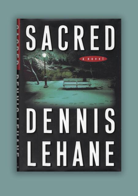 Sacred Dennis Lehane Signed HC 1st Edition, 1st Print Book