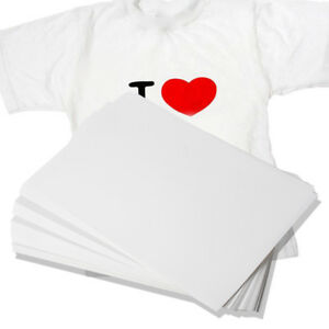 100-Sheets-A4-Dye-Sublimation-Heat-Transfer-Paper-for-Polyester-Cotton-T-Shirt