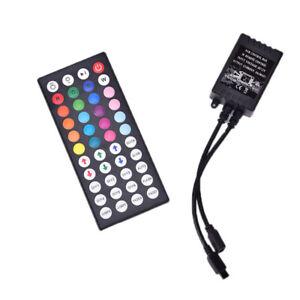 44-Chiave-A-INFRAROSSI-controller-remoto-di-Detective-Comics-12V-per-RGB-LED-STRISCIA-LUMINOSA-3528
