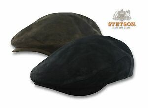 Stetson-Weathered-Leather-Ivy-Cap-Newsboy-Hat-Flat-Cabbie-Golf-Gatsby-M-L-XL