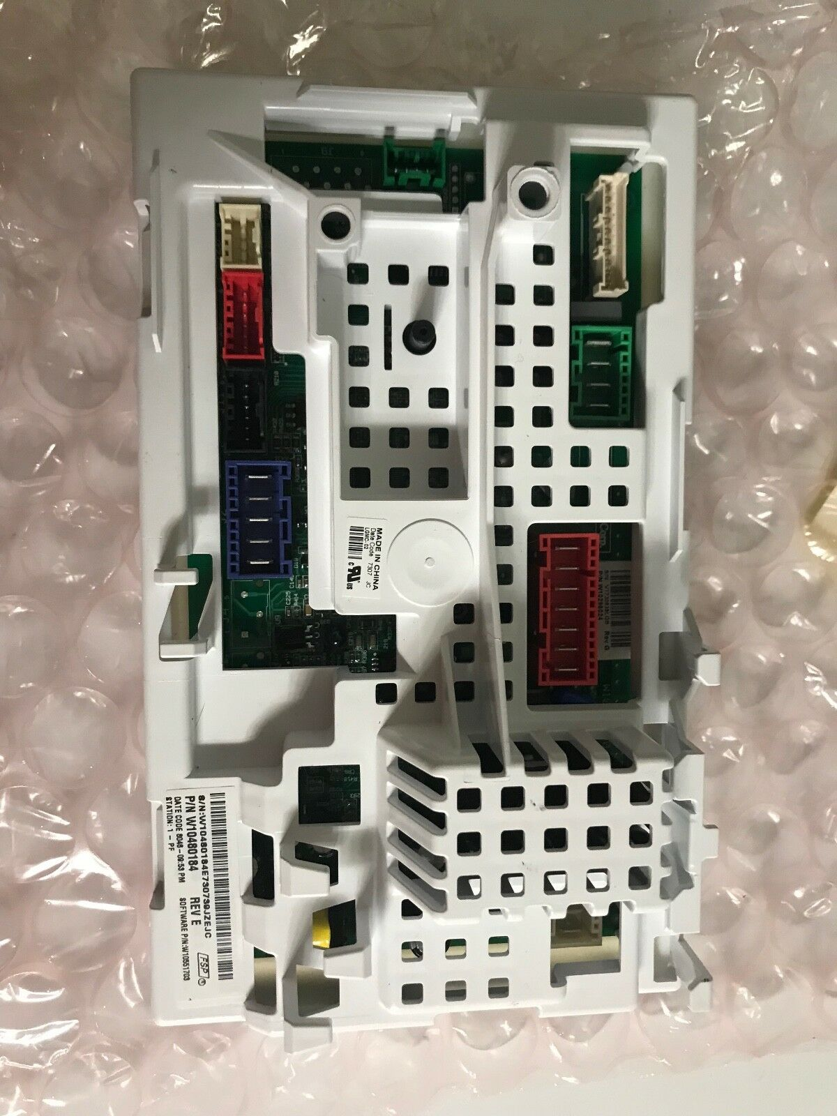 W10480184 Whirlpool Kenmore Maytag Washing Machine Control Board