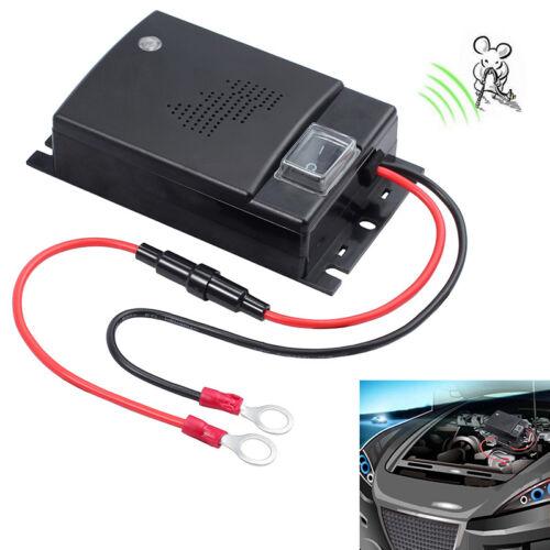 12V Ultrasonic Control Mouse Rodent Pest Animal Repeller Deterrent For Car Auto