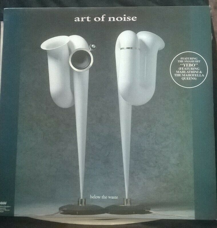 "THE ART OF NOISE, Below The Waste LP, 12"" Vinyl Record"