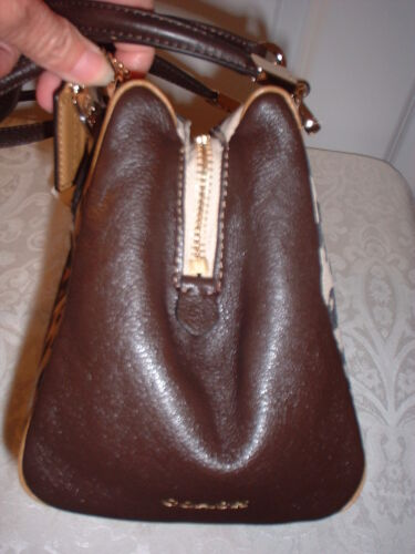 Coach Sacoche Lt Minihandbag 49969 Madison Avec Imprimé Ocelot Étiquettes Neuf 1qEOPw0