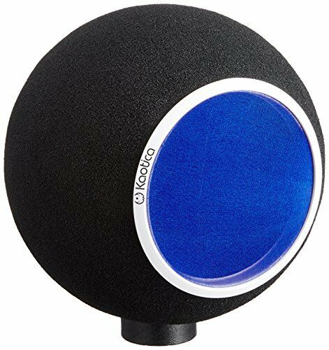 KAOTICA microphone accessory EYEBALL pop guard metal NEW