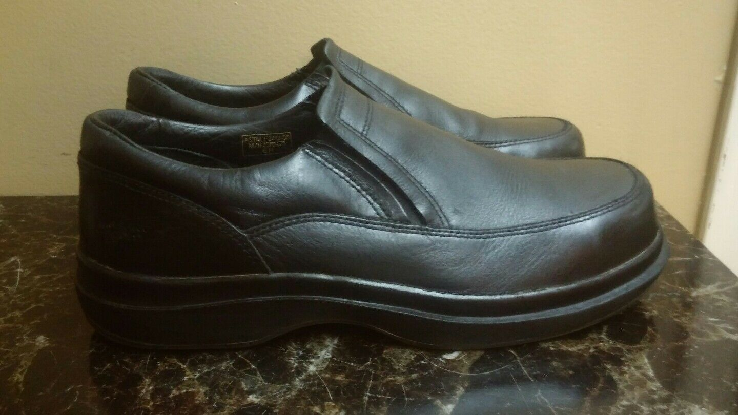 RED WING LEATHER STEEL TOE SLIP RESISTANT Uomo LOAFERS   13D