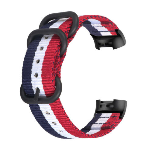 Fashion Nylon Sport Wristband Strap For Fitbit Charge 3//3 SE//Charge 4//4 SE