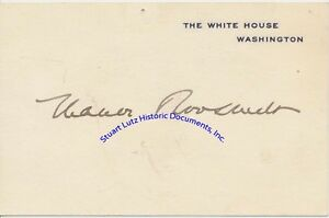 Eleanor-Roosevelt-signed-White-House-card-1935-First-Lady-to-Franklin-Roosevlt