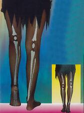 Women Skeleton Printed Tights Halloween Fancy Dress Accessories