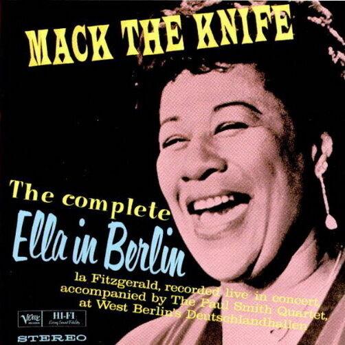 Ella Fitzgerald Mack The Knife The Complete Ella In Berlin 1993 CD Album Verve