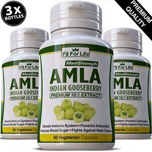 AMLA-Estratto-Amalaki-Capsula-Biologico-Indiano-Gooseberry-Disintossicante-Digestione-pillola-per