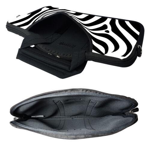 "15/"" Laptop Computer Sleeve Bag with 2 Top Pockets /& Shoulder Strap Handle 1802"