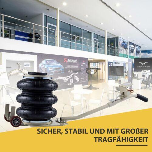 3 Tonnen Pneumatischer Wagenheber Hebebühne 3 Airbags Pneumatik Druckluft NEU*