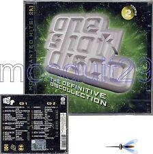 ONE SHOT DISCO VOLUME 2 RARO DOPPIO CD 2000 - FUORI CATALOGO