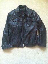Wilsons Leather  Black Coat Pelle Studio Thinsulate Insulation US Size L