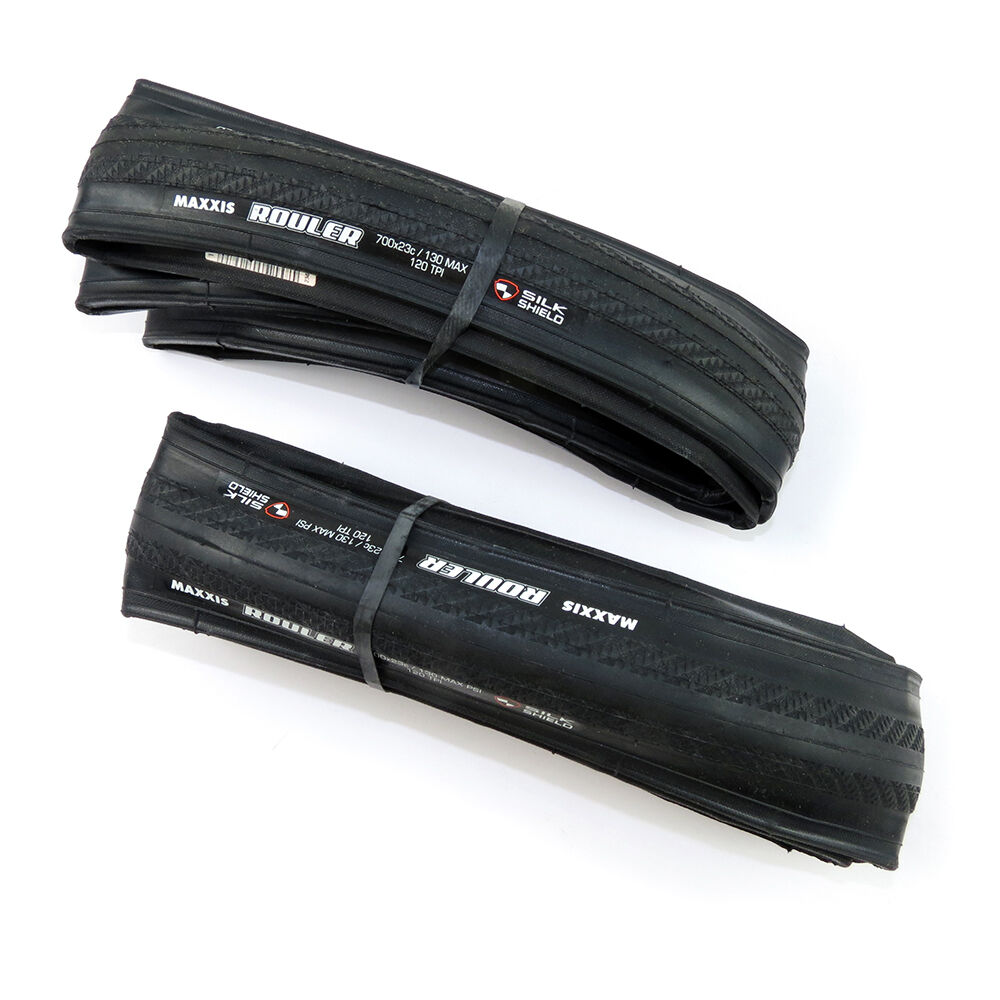 X2 Maxxis Rouler M3D 700x23C Road Racing Bike Clincher Foldable  Tire Tyre - BLK  cheapest price