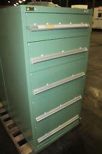 """Stanley Vidmar 5-Drawer Tool Storage Cabinet Shop Equipment Box   30"""" wide"""