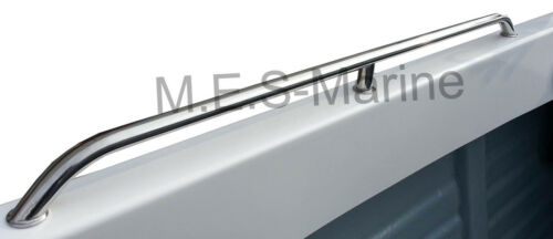 SINGLE 750MM AISI316 STAINLESS STEEL BOAT GRAB RAIL HANDLE MADE WITH OVAL PIPE