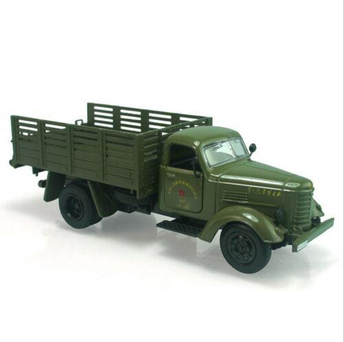 1:32 1/32 Army Green Jiefang Military Truck Diecast Truck-Modell hellem Klang