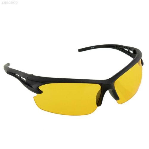 9BA6 Neue gelbe UV Schutzbrille Sport Driving Wandern Radfahren Sonnenbrille