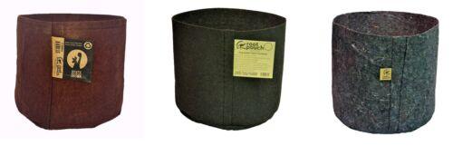 2 Root Pouch gris 18L poignées Pot Géotextile Smart grow guerilla jardin indoor