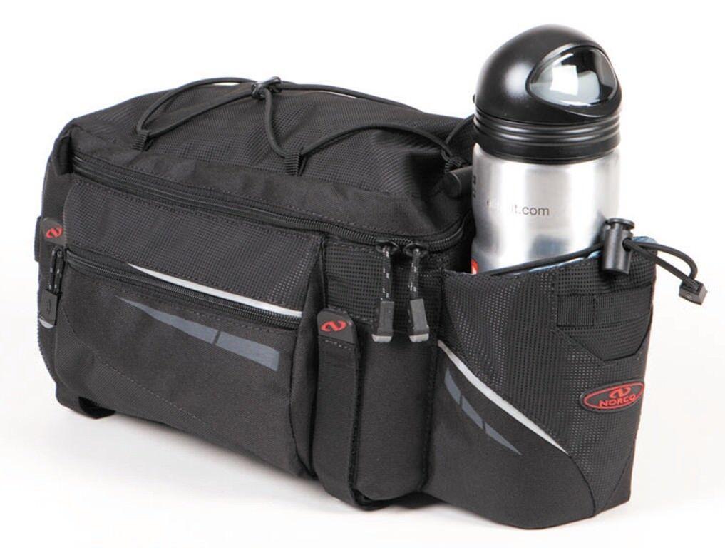 Norco Ohio active bicicleta-bolsa portaequipaje negro con correa para el hombro