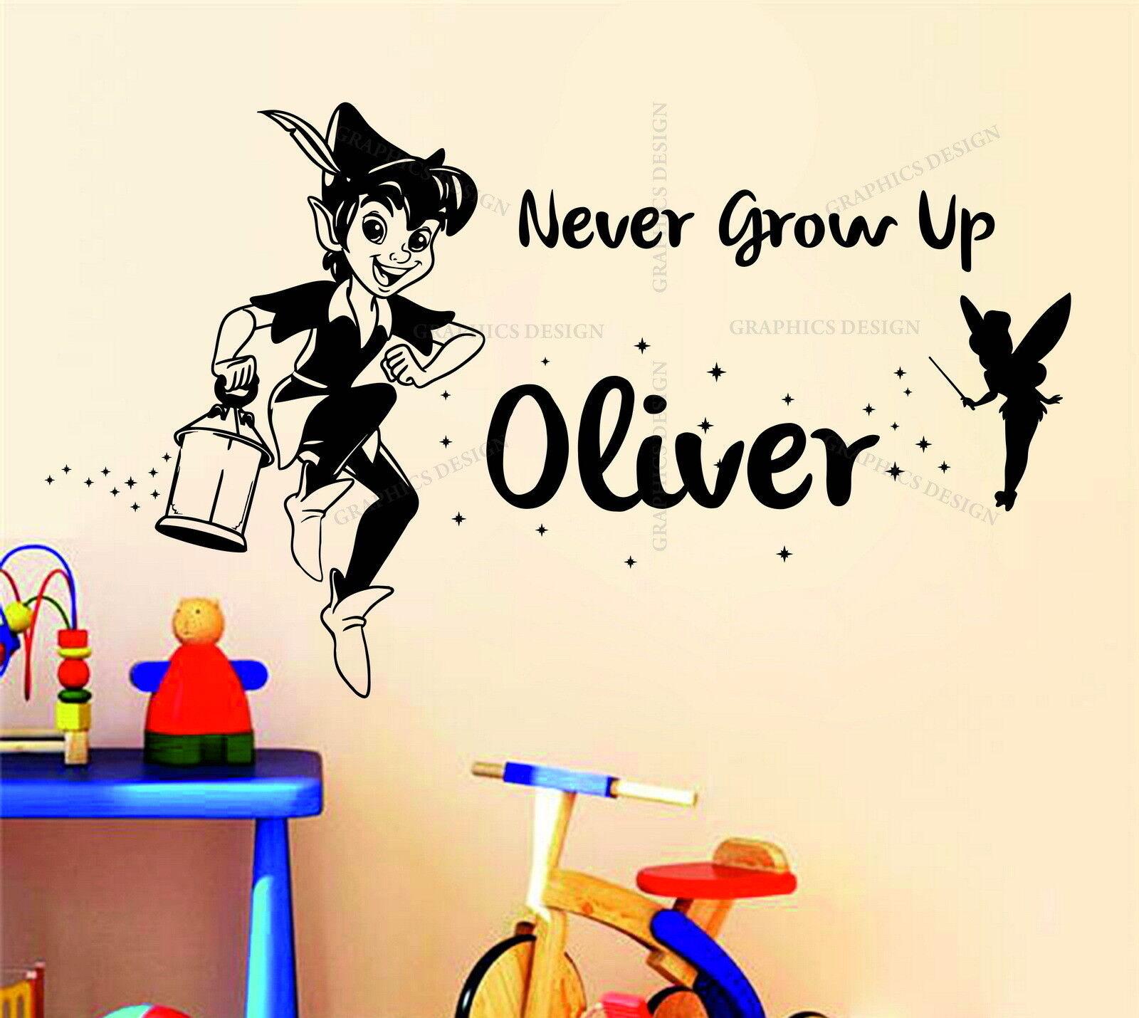 Peter Pan Personalised Name