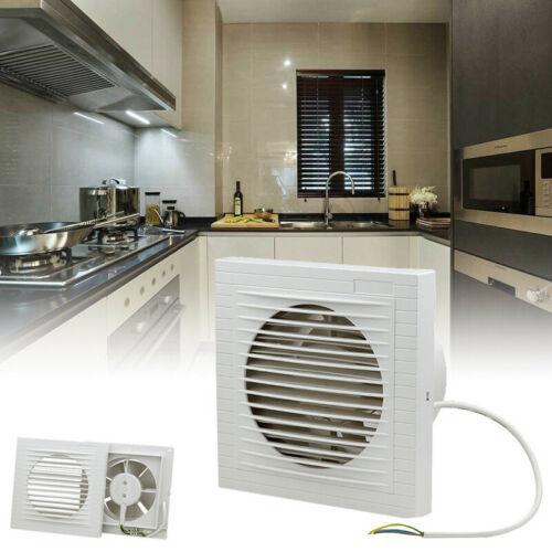 Wandlüfter Absaugung 100mm Ventilator Leise Wandventilator Bad WC Abluft Küche