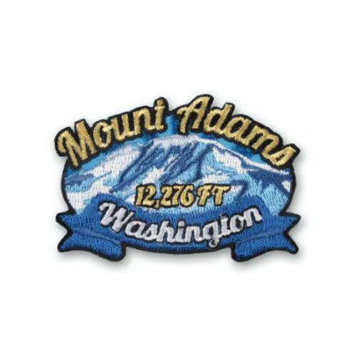 Mount Adams Washington Patch Embroidered Iron on Badge Souvenir Climb Trek USA