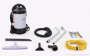 Demo-Model-ProTeam-Sierra-Commercial-Backpack-Vacuum-with-restaurant-kit
