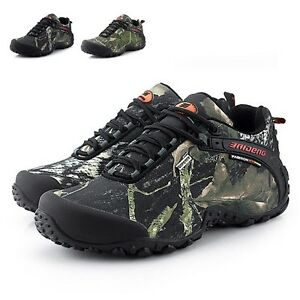 Male Outdoor Antislip Combat Sneakers Hiking Trainers Waterpoof Athletic Shoes