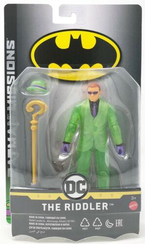 Dc Enfants Batman Missions The le Sphinx 15.2cm Action Figurine