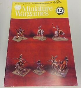 Miniature-Wargames-Number-12-80-039-s-oop-SC