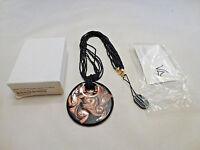 Venetiaurum Sterling 14k Gold Over 925 & Murano Glass Pendant Bead Necklace