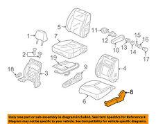 Honda Genuine 04811-TR3-A60ZC Seat Trim Cover Set Front Right