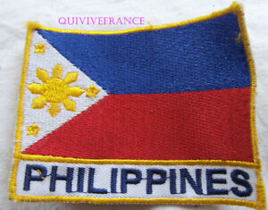In12195 - Insigne Tissu Patch NationalitÉ Philippines W9fcl4q0-07232106-799646523