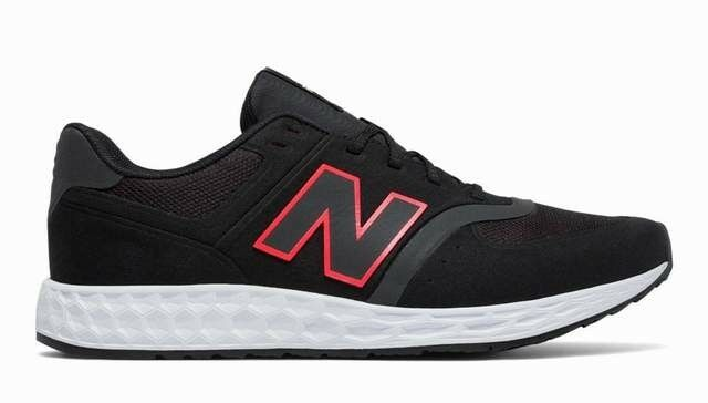 Pennino uomini nuovo equilibrio di scarpe in 574 nero di schiuma mfl 574 in bp taglia 9 noi 139 c98a26