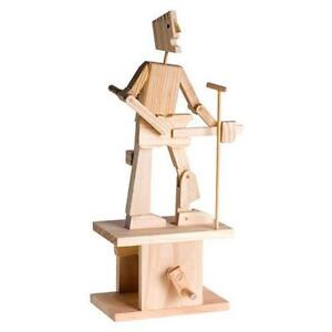 Details About Timberkit Wooden Automata Guitarist Wood Kit Educational Complete Timberkits Set