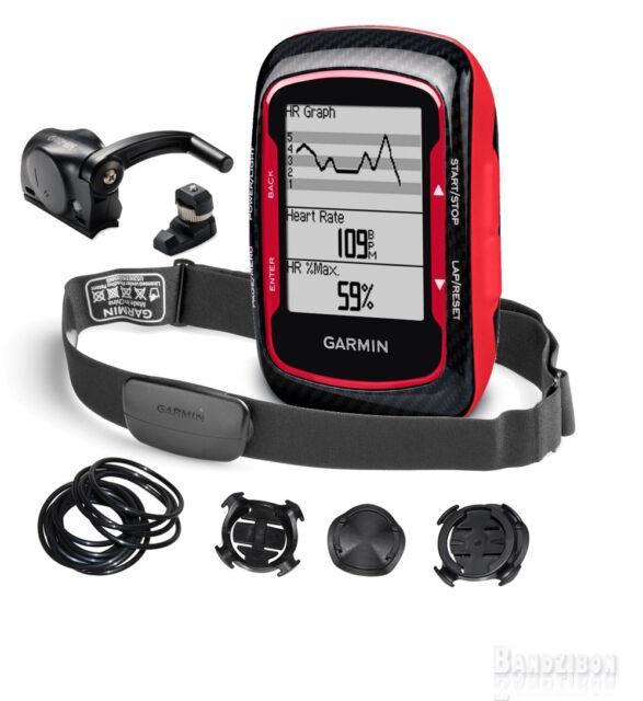 BLACK FRIDAY SALE PRICE!! -->Garmin Edge 500 Bike Performance Bundle Cadence+HRM