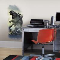 RoomMates 5 in. x 19 Godzilla City Wall Graphic Peel and Stick Decal RMK2639GM on Sale