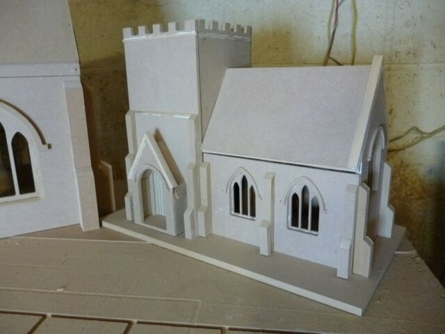 Dolls House 1/24scale Village Church Kit 24DHD039