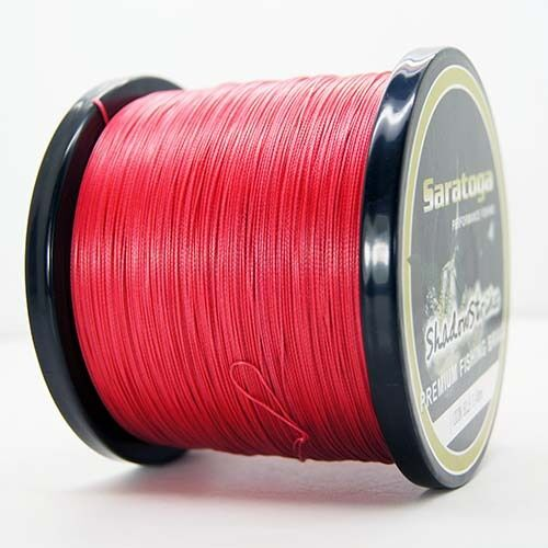 8 Strands Braid 1000M Red Power PE Line Dyneema Saratoga Braided Fishing Line
